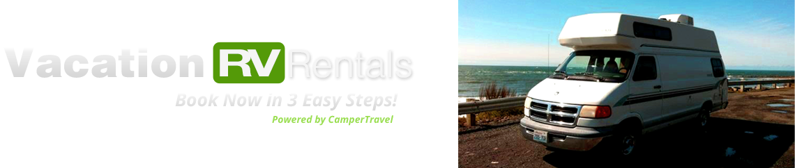 Vacation RV Rentals in California, Nevada, Colarado, and New York / New Jersey