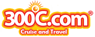 Logo, 300C.com Cruise and Travel