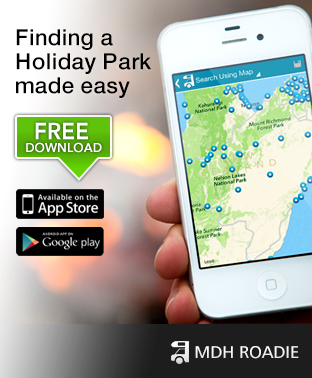 MDH Roadie - Caravan Park finder app